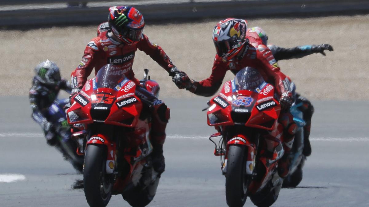 Jack Miller y Francesco Bagnaia
