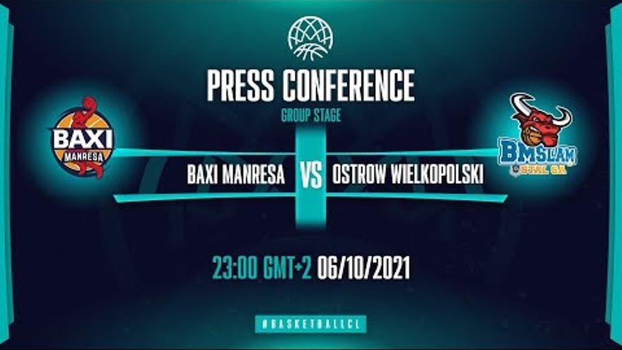 Roda de premsa postpartit del Baxi-Stal Ostrów