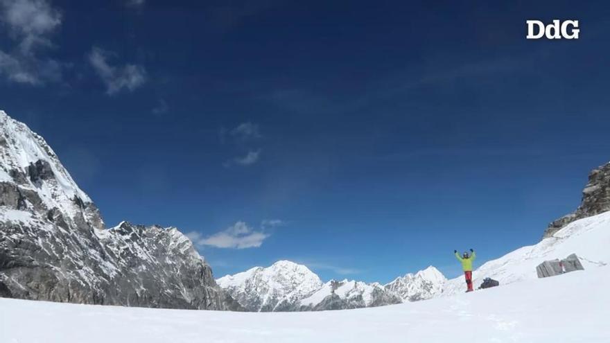 Vídeo: L'aventura d'un banyolí creuant l'Himalaia