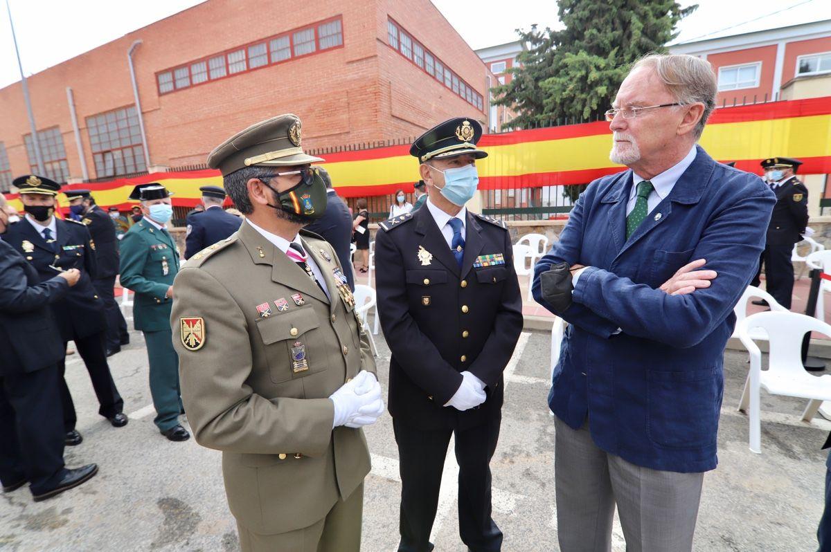 La Guardia Civil honra a su patrona en Murcia
