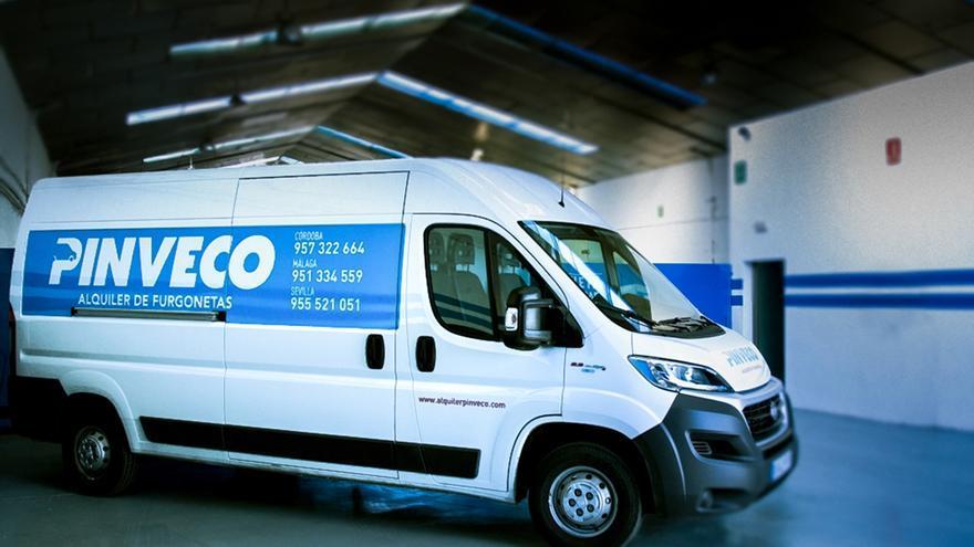 Pinveco, el alquiler de furgonetas inteligente para empresas y particulares
