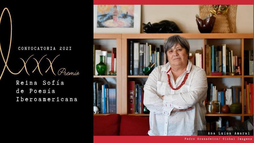 La poeta lusa Ana Luisa Amaral, galardonada con el Premio Reina Sofía de Poesía Iberoamericana