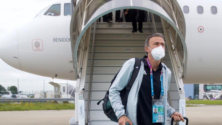 Luis Enrique asegura que sería mérito de los jugadores llegar a la final de la Eurocopa