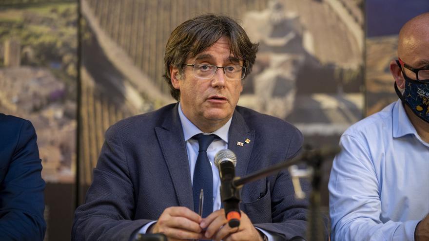 """Puigdemont acusa al Estado de querer """"liquidar la nación"""" catalana"""