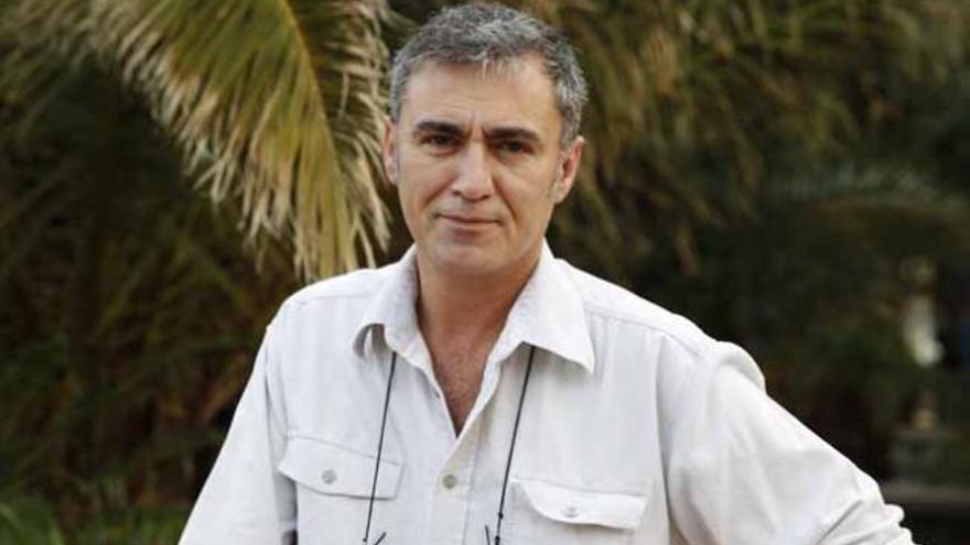 El narrador profesional Antonio López Lorenzo, ayer. | domingo martín