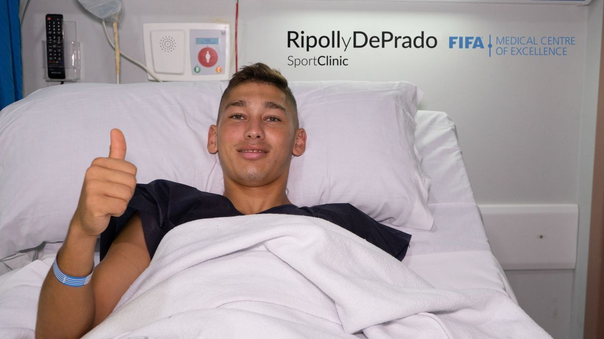 Bellotti, tras ser operado
