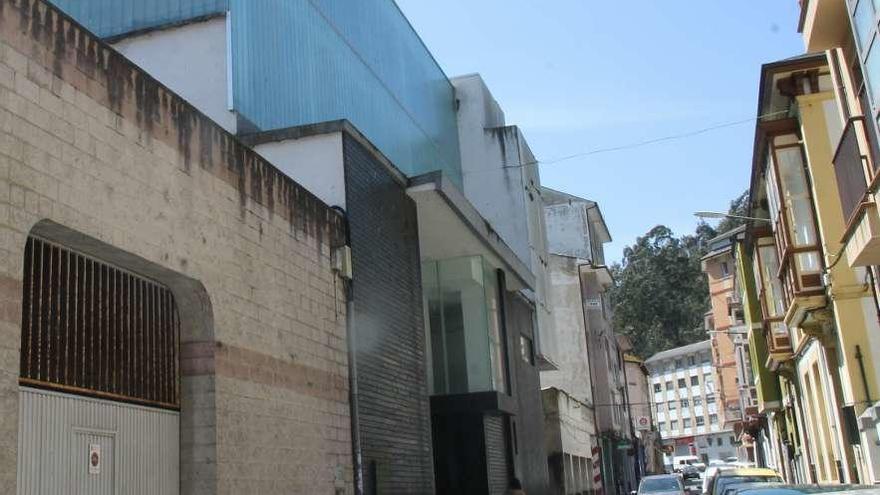Recta final para convertir el cine Goya de Luarca en un auditorio con 206 butacas