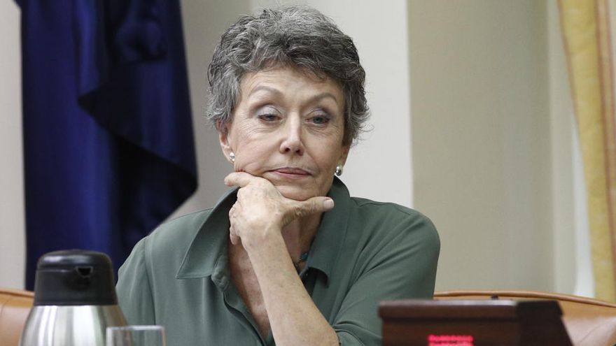 Rosa Mª  Mateo se disculpa por usar 'Levante' en RTVE para referirse a la Comunitat Valenciana