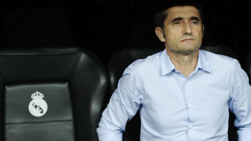 Valverde: «Els partits contra el Reial Madrid m'han servit de molt»