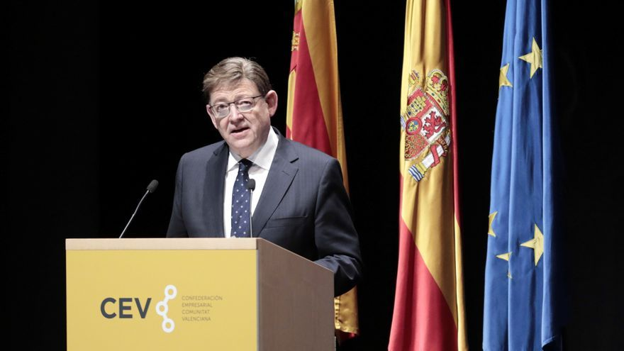 Puig anuncia que 14.100 firmas industriales podrán acceder a las ayudas directas del Plan Resistir
