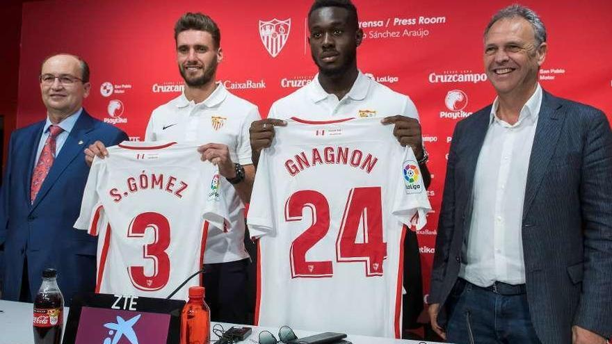 Sergi Gómez ya ejerce como jugador del Sevilla