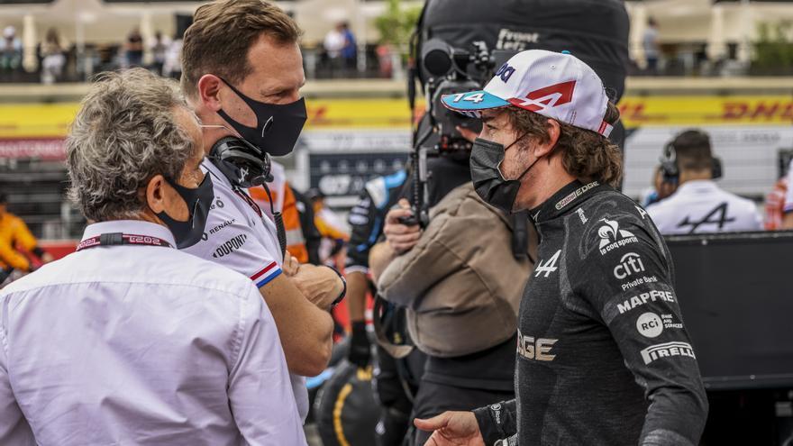 Fernando Alonso llega con optimismo al GP de Estiria