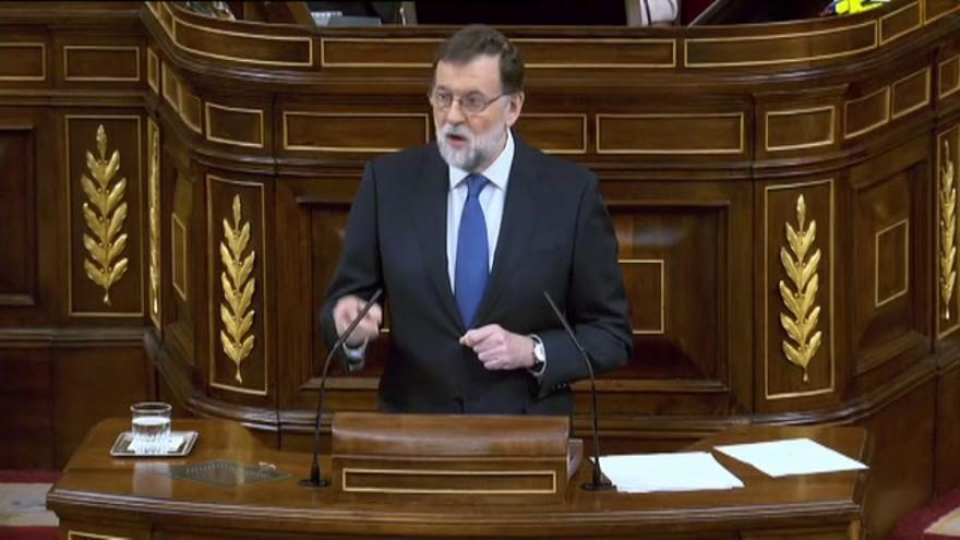 Rajoy anuncia una mejora de las pensiones mínimas y de viudedad en el 2018