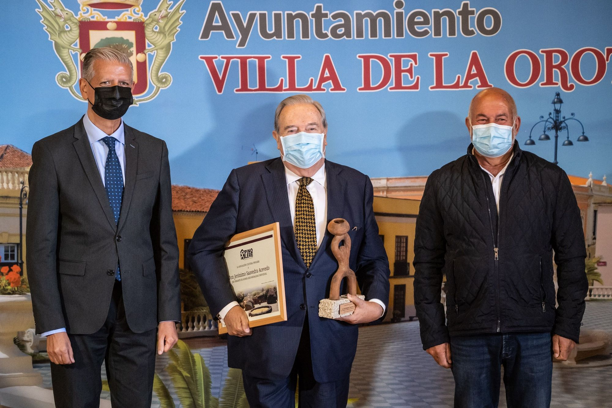 Entrega Premios Cho Feriantes de Honor de Pinolere