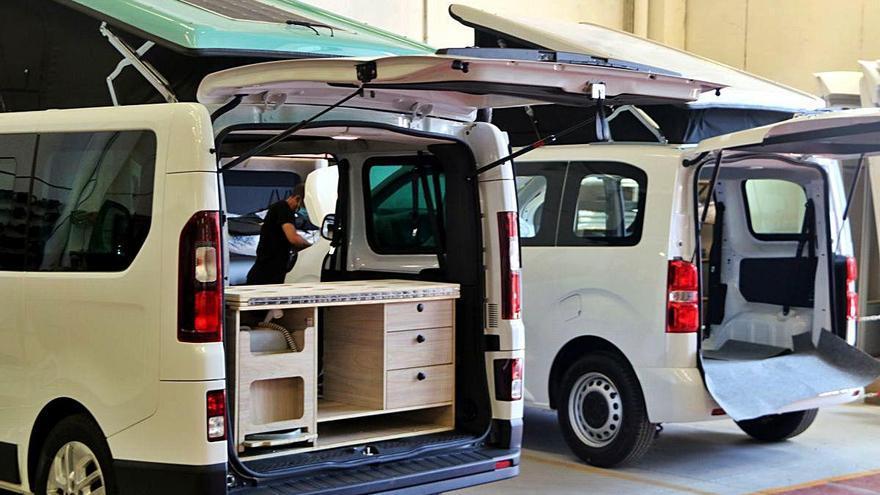 Creix l'interès per convertir furgonetes en cases d'estiu