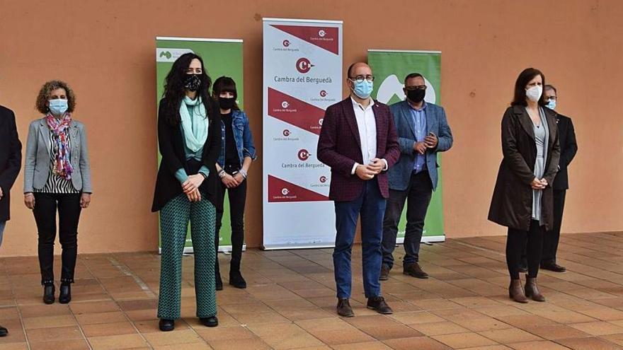 La Cambra i l'Agència es conjuren per dinamitzar els polígons del Berguedà