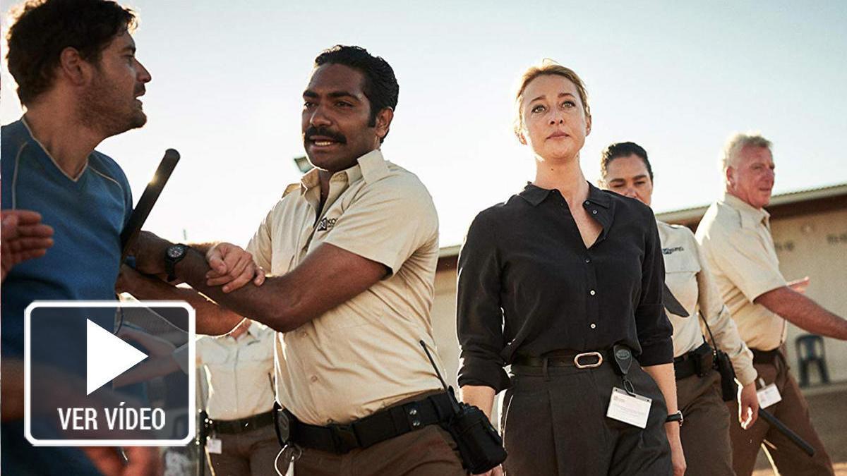 Una imagen de la serie de Netflix, 'Desplazados'.