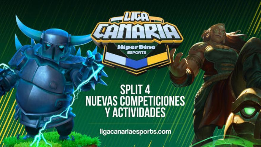 La Liga Canaria de Esports HiperDino sigue adelante  con nuevas competiciones