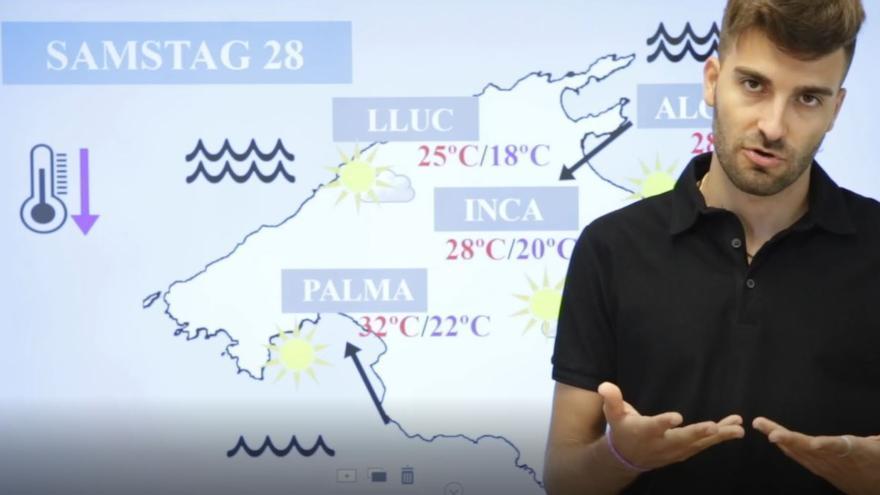So wird das Wetter auf Mallorca am Wochenende (28.8.-29.8.)
