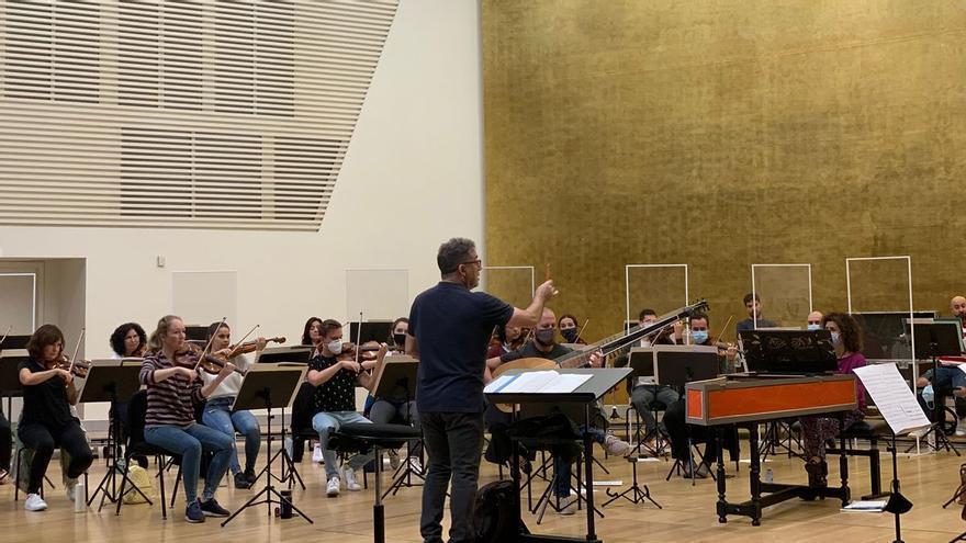Carles Magraner dirige un programa de música barroca con ADDA Simfònica