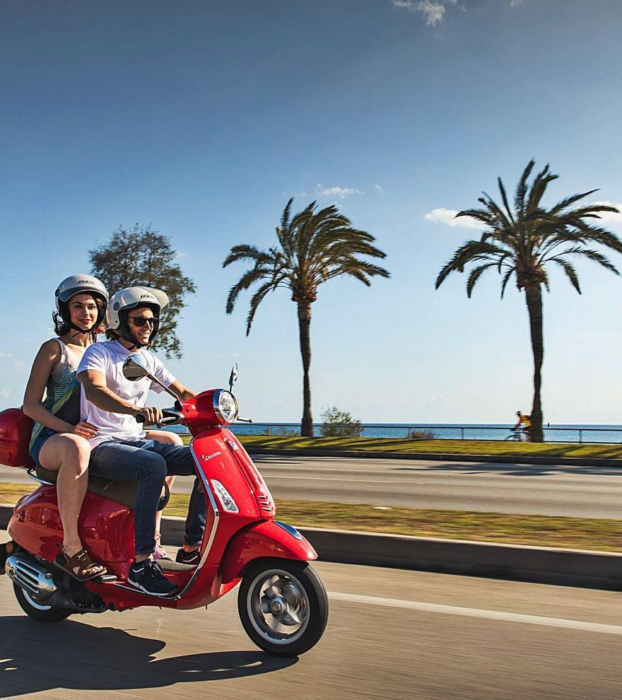 Fahrtwind inklusive: So mieten Sie einen Roller auf Mallorca