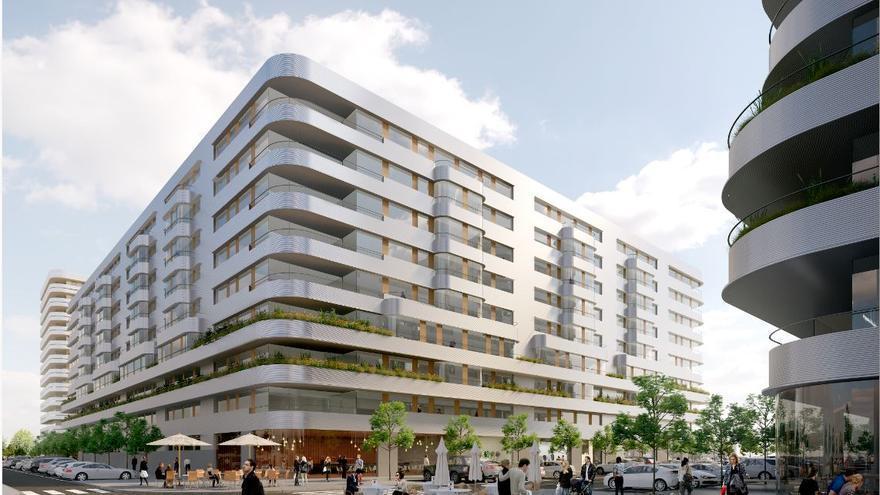 Pisos desde 119.000 euros en Quart de Poblet con dos habitaciones, garaje y piscina