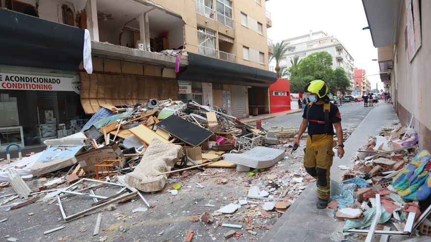 Detenido el autor de la explosión que destrozó un edificio en Torrevieja
