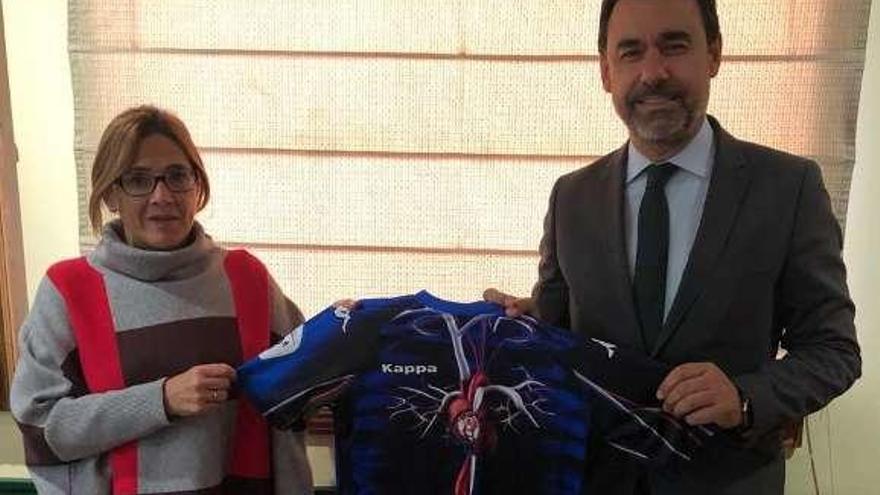 Martínez Maíllo y Martín Pozo muestran su apoyo a la entidad del Duero