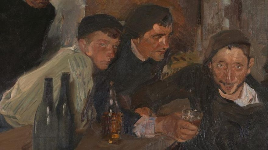 La National Gallery de Londres adquiere 'El borracho, Zarauz', su primera obra de Sorolla