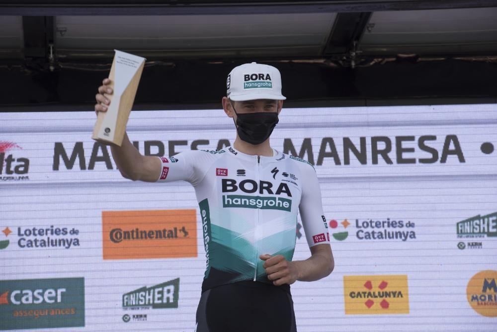 Manresa acull un final d'etapa de la Volta 2021