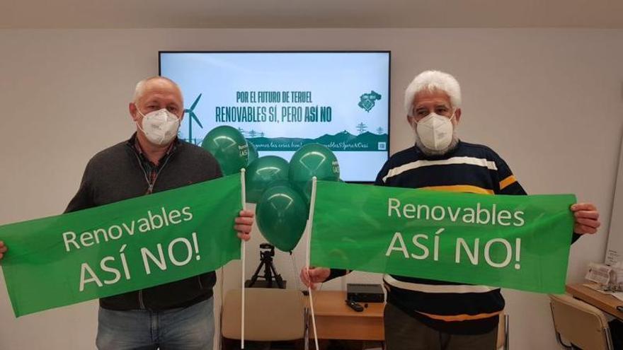 Crecen las protestas en Teruel contra las renovables en zonas sensibles