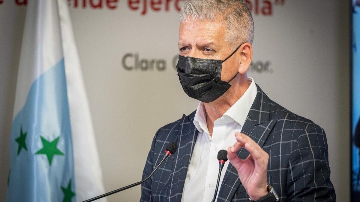 El secretario general de Coalición Canaria de Tenerife, Francisco Linares.