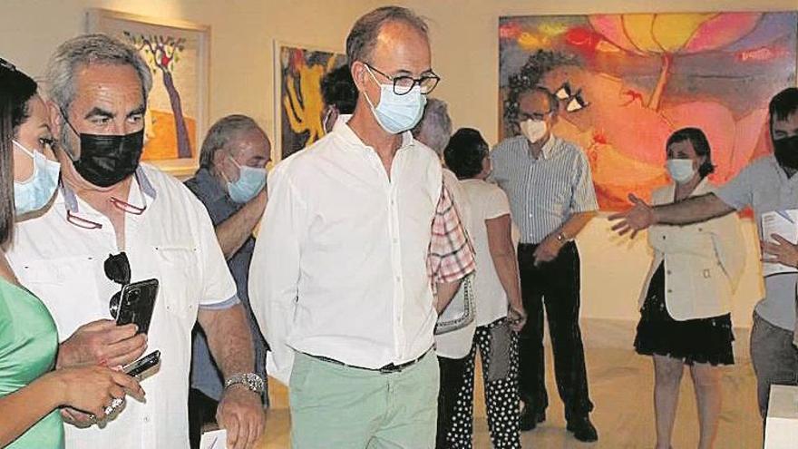 La exposición de Ripollés en Villa Elisa recibe 1.800 visitas