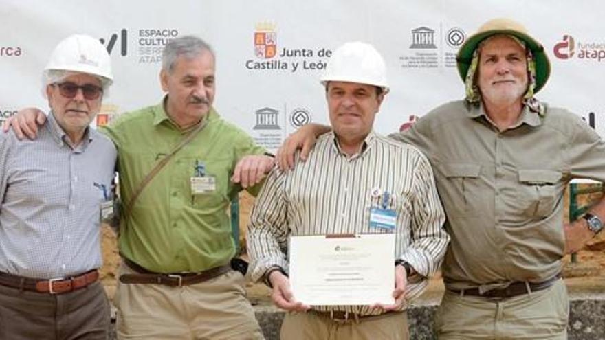 La Fundación Atapuerca nombra embajador a Alberto Velasco