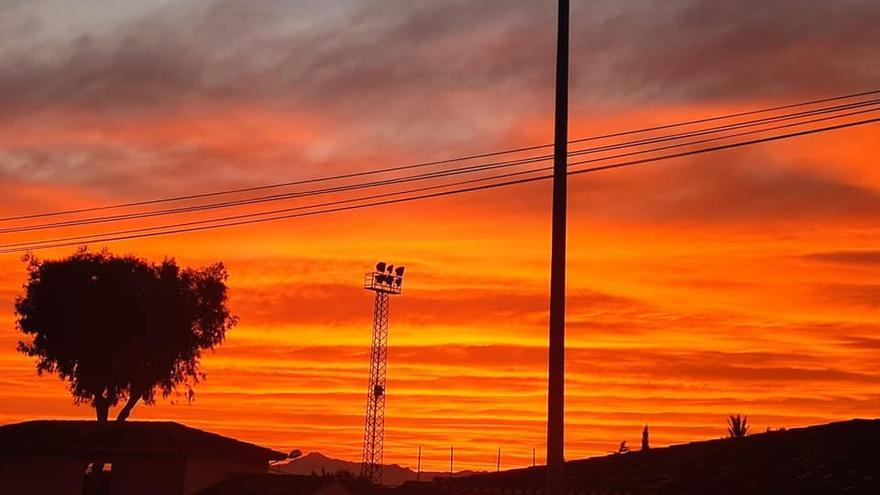 Atardeceres marcianos en Alicante por el Efecto Mie