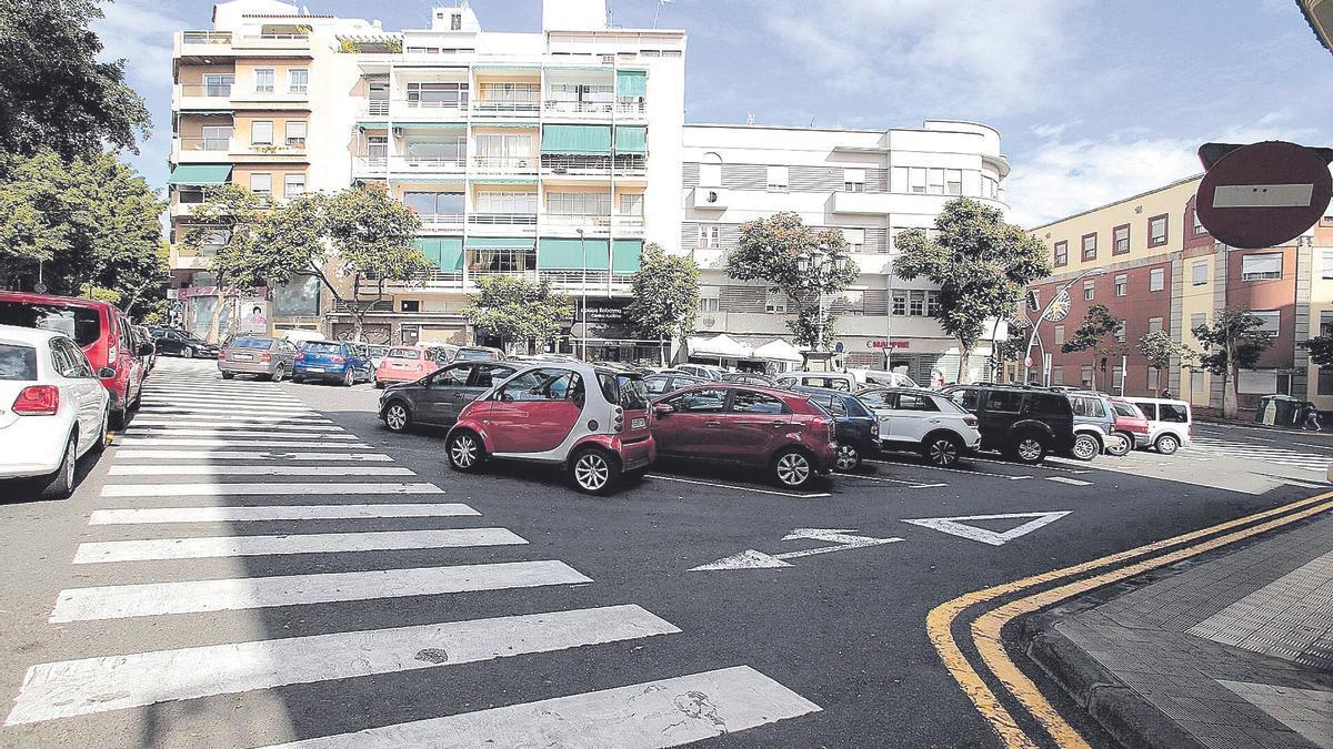 La zona de Orche, en la calle Robayna