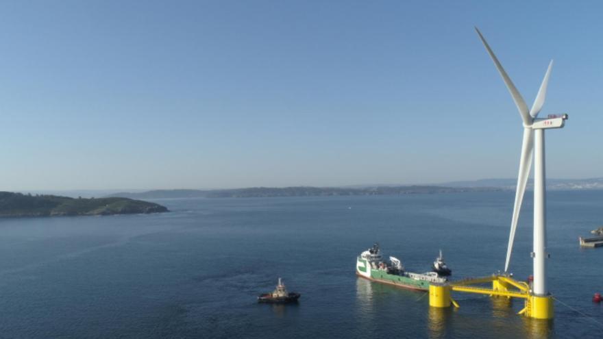 Greenalia presenta al Gobierno un polo industrial para éolica marina en Galicia
