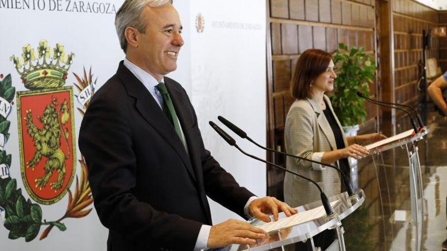 Azcón asegura que el batacazo de Cs no afectará a la coalición de Zaragoza