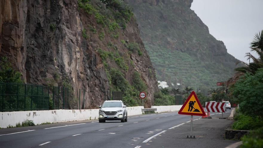El Cabildo de Tenerife inicia la rehabilitación y reasfaltado de 50 kilómetros de la TF-5
