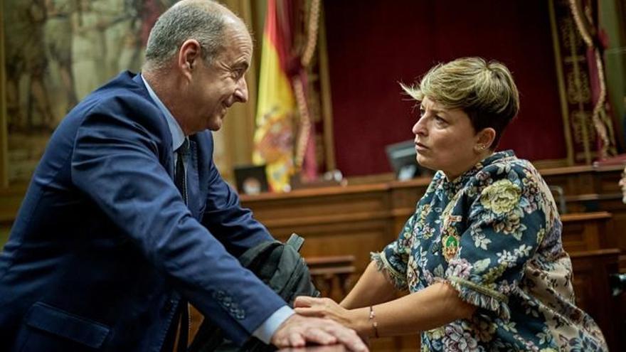Pleno del Parlamento de Canarias .- Debate del presupuesto de 2019