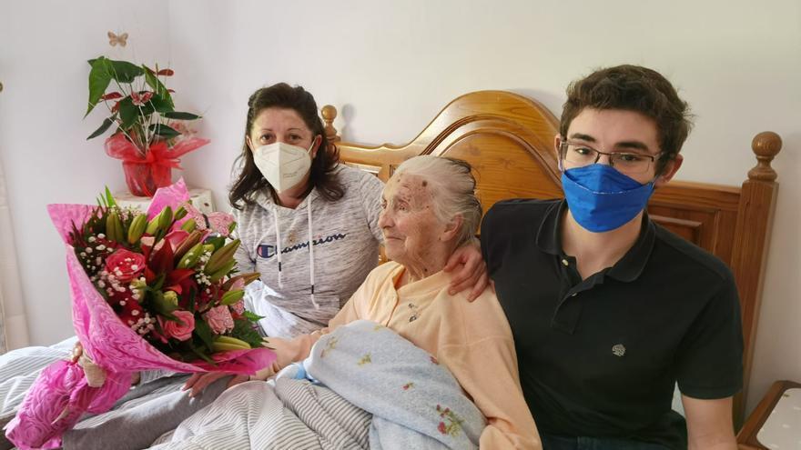 Ramona Espiño, la cuntiense de 101 años