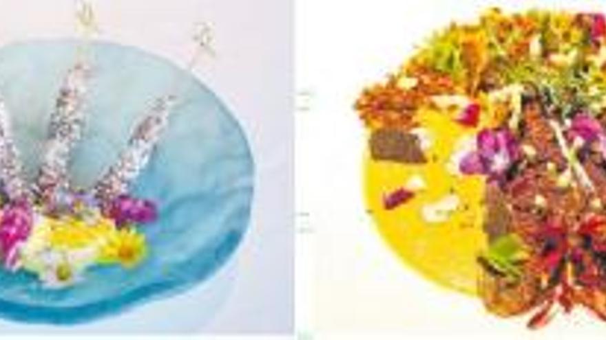 Tornen els menús especials amb flors dels restauradors gironins