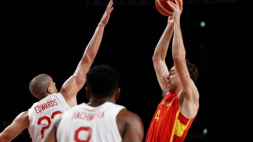 Baloncesto, en directo: España - Eslovenia