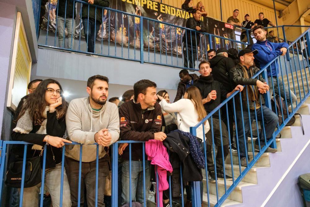 Unas 600 personas acuden al partido entre el San Pablo y el Gasifred