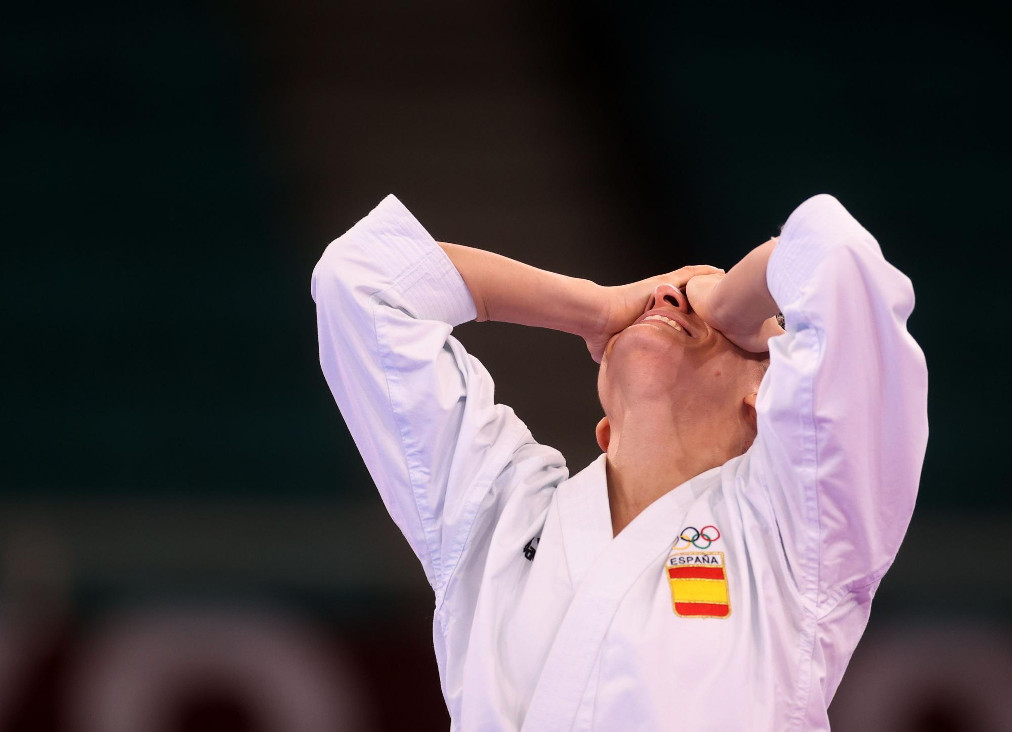 Sandra Sánchez, medalla de oro en kárate en Tokio 2020