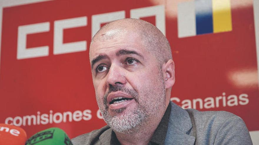 """Unai Sordo: """"Si el turismo no mejora, Canarias necesita un plan activo de empleo"""""""