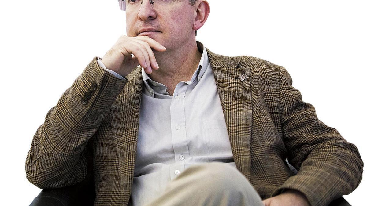 El escritor valenciano Santiago Posteguillo.
