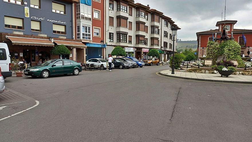 El centro de Arriondas será peatonal y tendrá menos plazas de aparcamiento