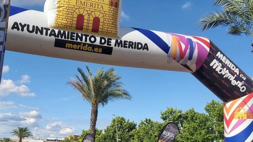 Luces sobre pedales en Mérida