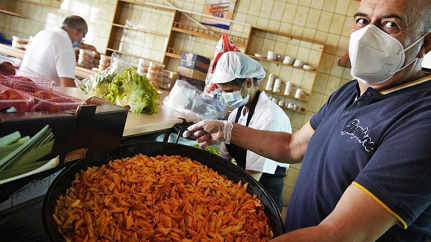 Cocina solidaria de Zamora: 121 comidas al día